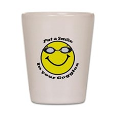 Smiling Goggles Shot Glass