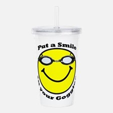 Smiling Goggles Acrylic Double-wall Tumbler