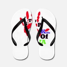RightOn Stand for Kids Flip Flops