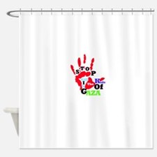 RightOn Stand for Kids Shower Curtain
