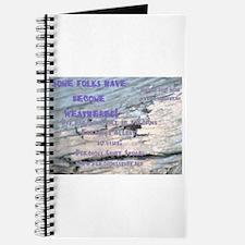 Never weathered Precious Stuff Journal