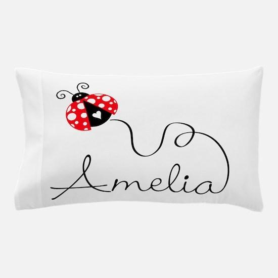 Ladybug Amelia Pillow Case