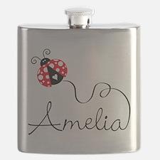 Ladybug Amelia Flask