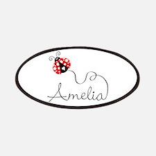 Ladybug Amelia Patches