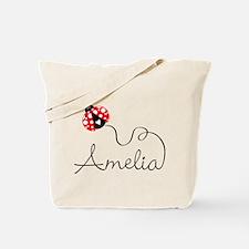 Ladybug Amelia Tote Bag