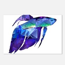 Tropical fish Postcards (Package of 8)