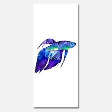 Beta Fish for Polygon Mosaic Blue Purple Invitatio