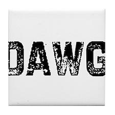 Dawg Tile Coaster