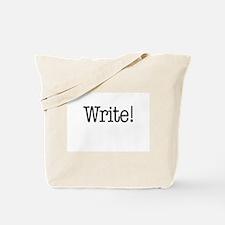 Write! Tote Bag