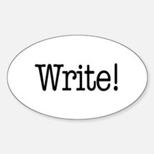 Write! Decal