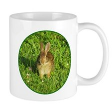 Rabbit Eating Weeds Mug