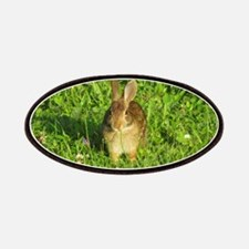 Rabbit Eating Weeds Patches