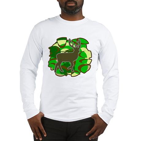 Deer Hunting camoflage Long Sleeve T-Shirt