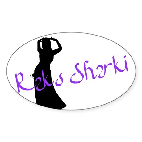Raks Sharki 2 Oval Sticker