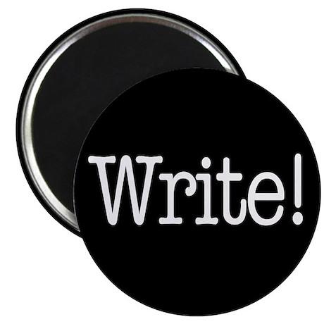 "Write! 2.25"" Magnet (10 pack)"