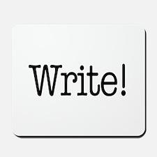 Write! Mousepad