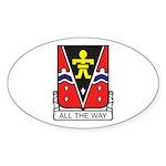 509th Airborne Crest Oval Sticker