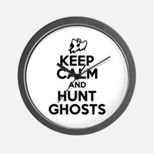 Unique Ghost hunt Wall Clock