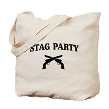 Stag Party Guns Tote Bag