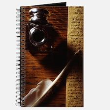Feather Pen Journal