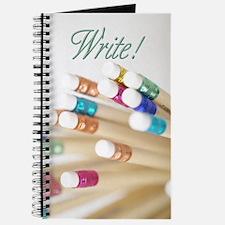 Write! Pencil Journal