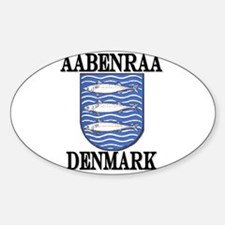 The Aabenraa Store Oval Decal