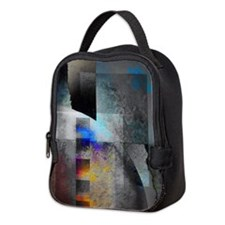 Cute Abstract art Neoprene Lunch Bag