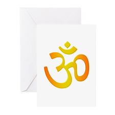 Om Greeting Cards (6)