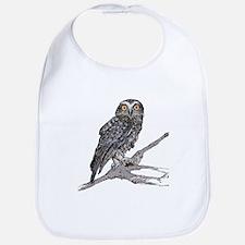Cute Funky owl Bib