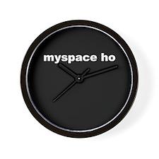 MySpace Whore Wall Clock