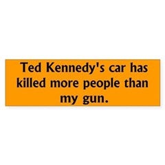 Ted Kennedy's car has killed more people...