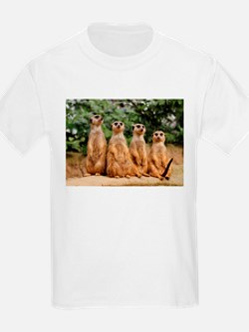 Meerkat-Quartett 001 T-Shirt