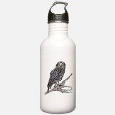 Unique Funky owl Water Bottle