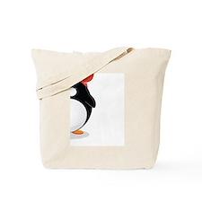Penguin love Card Tote Bag