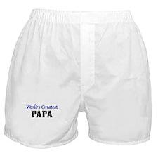 World's Greatest PAPA Boxer Shorts