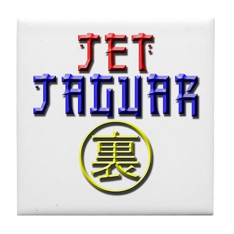 Jet Jaguar Tile Coaster