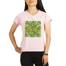 Golden Dragonfly Cluster Performance Dry T-Shirt