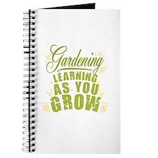 Gardening Learning As You Grow Journal