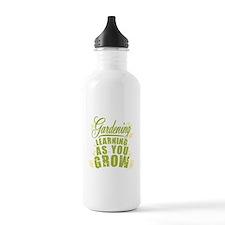 Gardening Learning As Water Bottle