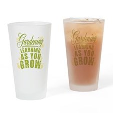 Gardening Learning As You Grow Drinking Glass