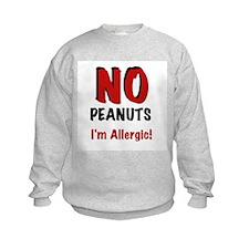 Peanut Allergy Sweatshirt