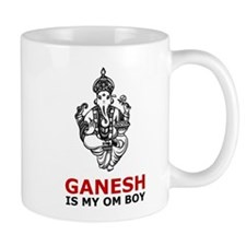 Hinduism Ganesh Is My Om Boy Mug