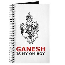Hinduism Ganesh Is My Om Boy Journal