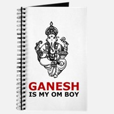 Hinduism Ganesh Is My Om Boy Journal
