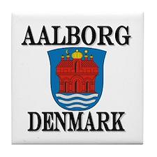 The Aalborg Store Tile Coaster