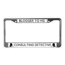 Sherlock Blogger His Detective License Plate Frame