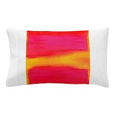 ROTHKO PINK AND YELLOW ORANGE Pillow Case