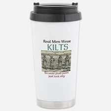 Real Men Wear Kilts Travel Mug