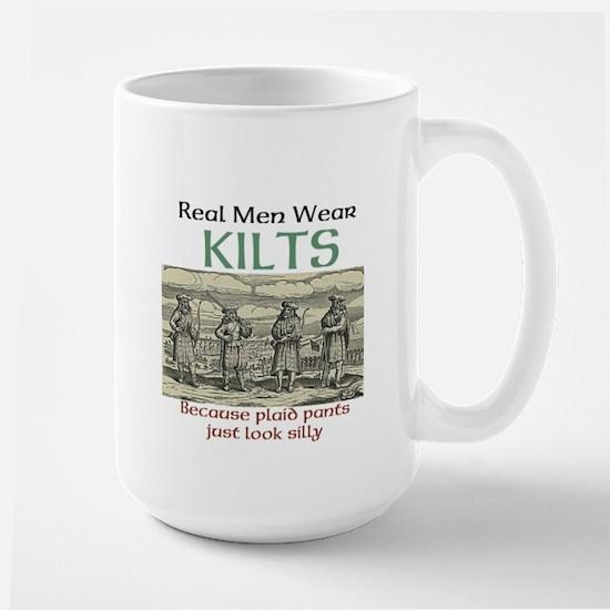 Real Men Wear Kilts Mugs