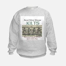 Real Men Wear Kilts Sweatshirt
